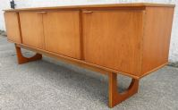 1960's Retro Long Teak Sideboard by Stonehall - SOLD